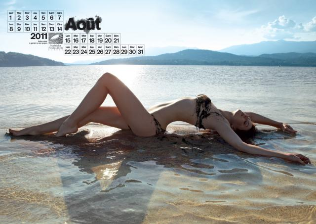 le calendrier 2011 surfrider dégazé